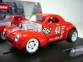 Carrera 1/32 SlotCar ◆41 WILLYS COUPE /RED     希少モデル!ホットロッド★(ヘッドライト・テールランプ点灯)