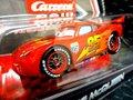 Carrera-Go スロットカー 1/43  ◆LIGHTNING McQUEEN ディズニーピクサー/CARS2   カレラGoは1/32のコースでそのまま走れます☆さすがに人気No1、現在メーカ欠品中!