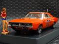 "Pioneer 1/32 スロットカー  P016◆ 1969 Dodge Charger ""General Lee"" TV series 'Dukes of Hazzard'   「デュークス・オブ・ハザード」のジェネラル・リー新発売!可愛いデイジーのフィギュア付き限定モデル★コレクター必見!"