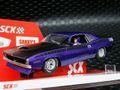 SCX 1/32 スロットカー U10365X300-PU◆Plymouth Cuda 1970 「Violet Metallic」  ―500 Limited Edition/ Serial No's―  レア!★入荷完了!