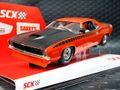 SCX 1/32 スロットカー U10365X300-O◆Plymouth Cuda 1970 「Orange」  ―500 Limited Edition/ Serial No's―  レア!★オレンジも入荷済み!
