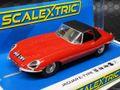 scalextric1/32 スロットカー  C4032◆Jaguar E-Type - Red 848CRY   ジャガーE-タイプ◆再入荷ました!