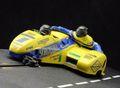 "BRM 1/18 スロットカー  SDC 01 ◆ LCR-Swissauto  Motorcycle/Sidecar-Racer ""Schlossgold""   #1/Rolf Biland & Kurt Waltisperg  再入荷しました!★只今人気集中の新商品!"