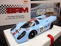 "BRM 1/24 スロットカー  BRM-039 ◆Porsche 917K  ""Gulf""  #21/Pedro Rodriguez/Leo Kinnunen   24H LeMans 1970  BRMの最新モデルが入荷しました!★1/24ビックスケール!カッコ良すぎ~!!"