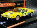 Scaleauto 1/32 スロットカー  SC6035◆DeTOMASO PANTERA   #7 Beurlys Inter Auto, Le Mans 1975  イタリアン・エキゾチックカー、パンテーラ!★これメッチャ速いの皆さん知ってる?!