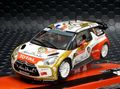 "SCX 1/32 スロットカー A10158 ◆ CITROEN DS3 WRC  ""Abu Dhabi""  #1/Loeb & Elena  RALLY MONTE CARLO 2013    4WD・ライト点灯モデル 人気モデル★再入荷!"