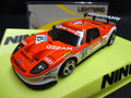 "NINCO 1/32 スロットカー  50593◆FORD GT GT3   ""Osram"" #85 Lightning !    クラッシャー23500rpm搭載!★最強ライトニング!再入荷!"