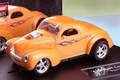 "Carrera 1/32 SlotCar  ◆41 WILLYS COUPE   ""Supercharged""/オレンジ  ヘッドライト・テールランプ点灯★再入荷!"