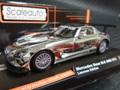 Scaleauto 1/32 スロットカー  SC6019◆Mercedes Benz SLS GT3   Laureus Special Edition AMGベンツSLS/オールクロームのショーカーが登場!★世界500台限定!