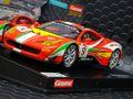 """Carrera Digital124 スロットカー  23879◆Ferrari 458 GT3  """"AF Corse, #51""""    ★アナログコースでもOK!ディティールが素晴らしい迫力の1/24スケール入荷完了!"""