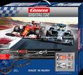 """Carrera digital132 コースセット   30183◆Race'n Rush SET """" レースアンドラッシュ""""  メルセデス・W05ハイブリッド & フェラーリ F14  F1マシン  2台入りフルセット 全長6.9m  ★待望のデジタルセットが入荷!"""