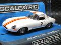 Scalextric 1/32 スロットカー   C3890◆ Jaguar E-Type Jaguar E-Type  #9/Bob Jane 1965 Bathurst  前後ライト点灯・ハイディティールモデル◆最新モデル!!