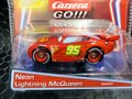 "Carrera Go 1/43 スロットカー  64000 ◆""Neon"" LIGHTNING McQUEEN/ ネオン・ライトニング・マックィーン  Disney/Pixar Cars - マシンの下でネオンが光る!★カッコいいよ!!"