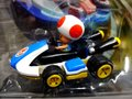 """Carrera-Go スロットカー 1/43 64036◆ """"キノピオ 任天堂マリオカート8""""  NINTENDO MARIO KART 8 TOAD カレラGoは1/32のコースでも走れます☆今度はWiiから新製品"""