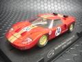 Slot It 1/32スロットカー  SICA18a◆Ford  GT40   #24/G.Hill-J.Stewart   Sebring 1966      G.ヒル/J.スチワート組 ★アランマンレーシング!