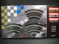 Carrera コース拡張パーツ    20571◆1/60カーブ  3枚入り    ★ホームコースセットに入っている一番小さいカーブです。 3枚で180°を構成します。