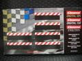 Carrera コース拡張パーツ    20560◆スタンダード ストレート用 サイドショルダー 6枚入り     ★ストレートの立ち上がり部分に!