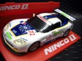 """Ninco 1/32 スロットカー   ◆Chevrolet Corvette GT3 Z-06  #72""""VALEO""""     NINCO1★NC11搭載"""