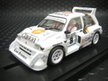 MSC 1/32 スロットカ-  6012◆MG Metro 6R4  Rally 1000 Lakes 1986  #8  クラリオン!     4WD★激速です!
