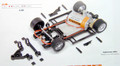 Slot It 1/32 スロットカーパーツ  CH32◆HRS2完成シャシー  アングルワインダー  (BOXER/2モーター 20000RPM 340g/Cm)     0.5mmオフセット/マウント     各社モデル用★最強の汎用シャシー★アメリカより再入荷!