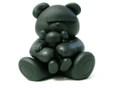 UNDERCOVER×OriginalFake KAWS Bear ;黒 開封のみ