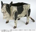 ダルトン アンティーク木製BOX(COW)