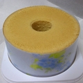 プレーンシフォンケーキ直径20cm