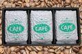 おいしいコーヒー豆お試しセット【スペシャル(ブルマン)ブレンド豆+ブラジル豆+マンデリン豆】