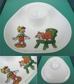 ピノキオ/エッグプレート