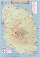 伊豆大島観光・三原山ハイキング本格マップ 1/25,000地形図P