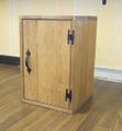 パインボックス(ウオルナット)ウッドドア