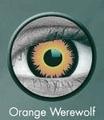 オレンジ茶コン【Crazy Lens Orange Werewolf】コスプレ専用カラコン2枚セット