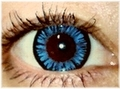 ColourVUE BIGEYES【COOL BLUE】15mm青コン 2枚1セット