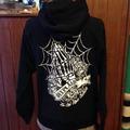 DEEPLAID CLOTHING SKULL PRAY ZIP HOOD ディープレイド/8,800円