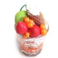 【ワークショップ】マンゴーのミニグラスパフェメモスタンド(Sサイズ)