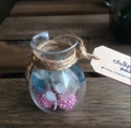紫陽花とベリーの小瓶