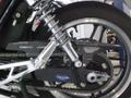 CB1100 カーボンチェーンカバー(平織り・スリット有り)ストレートエンド