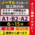【A2/B2/A1】ノーマルラミネート 6~15枚