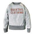 """DUCKTAIL CLOTHING 2 TONE SWEAT """"TIMES"""""""
