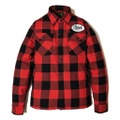 """DUCKTAIL CLOTHING HEAVY FLANNEL CPO JACKET """"BUFFALO"""" RED"""