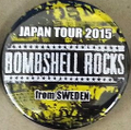 BSR JAPAN TOUR2015缶バッチ2個セット②