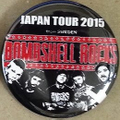 BSR JAPAN TOUR2015缶バッチ2個セット⑥