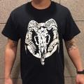 """EOTD × DxAxM """"GOAT SKULL T-Shirt""""  BLACK"""