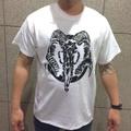 """EOTD × DxAxM """"GOAT SKULL T-Shirt""""  WHITE"""