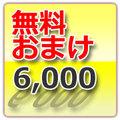 WTD発送 6,000円以上お買い上げのオマケ