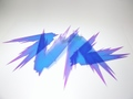 【即納】EVOLVE WORKS製 汎用エフェクトパーツ 光の翼 タイプ2