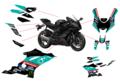 YZF-R6 YZF-R1 MotoGP PETRONAS グラフィックステッカー