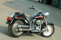 QD Exhaust ハーレー Softail Fat Boy