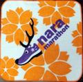 奈良マラソン ハンドタオル オレンジ