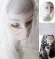 New♪☆防寒・UVサイズ☆極ふわ♪日本製高級マスク☆美Veilマスク